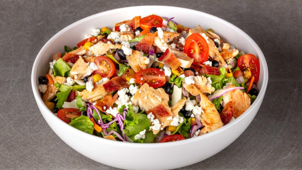 Santa Maria BBQ Chicken Salad