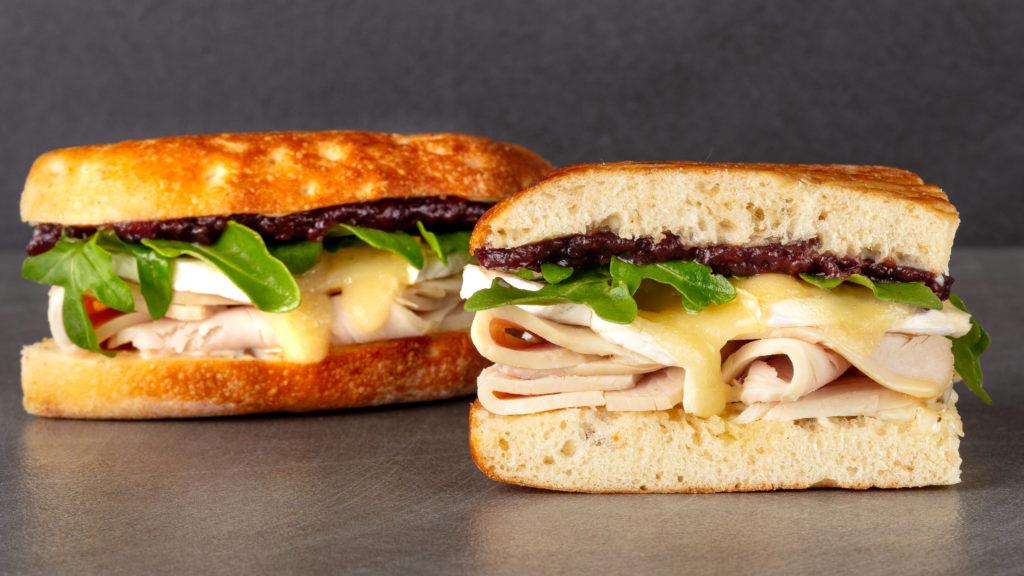 Cranberry Brie Sandwich