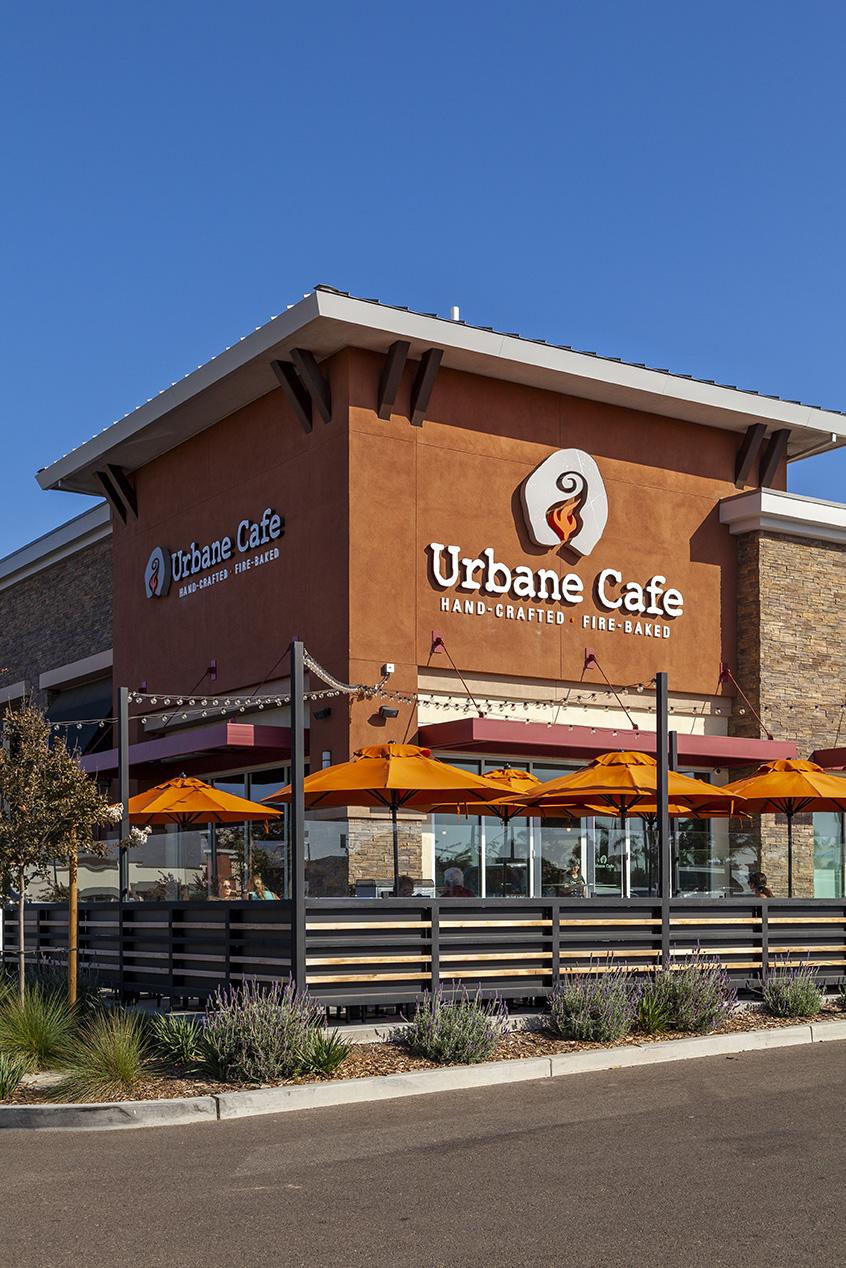 Urbane Cafe building